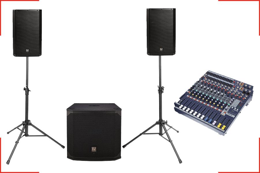 Audio Bundle Größe M