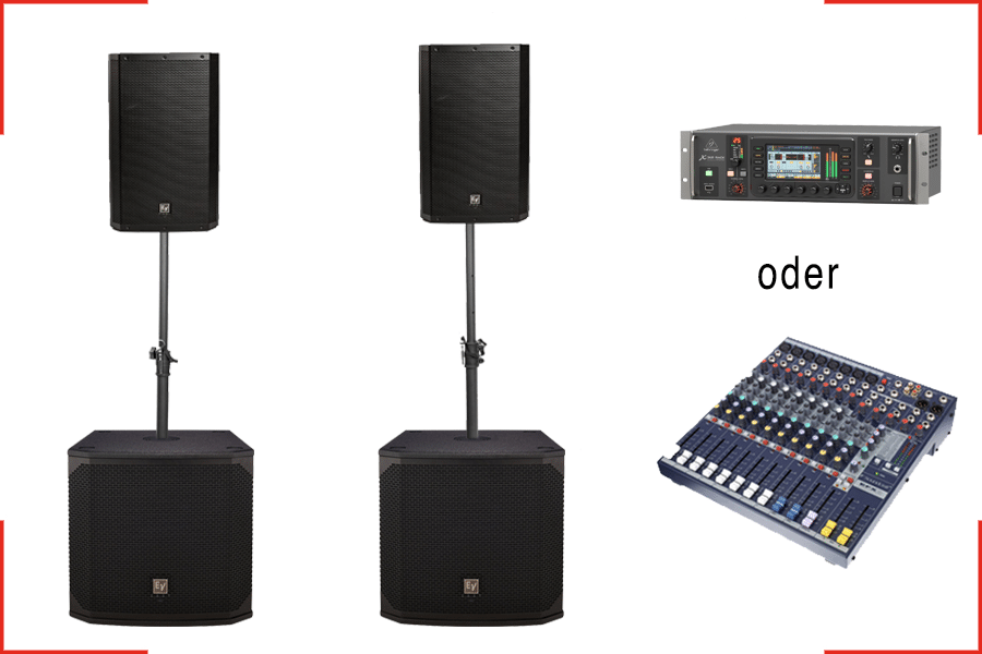 Audio Bundle Größe L